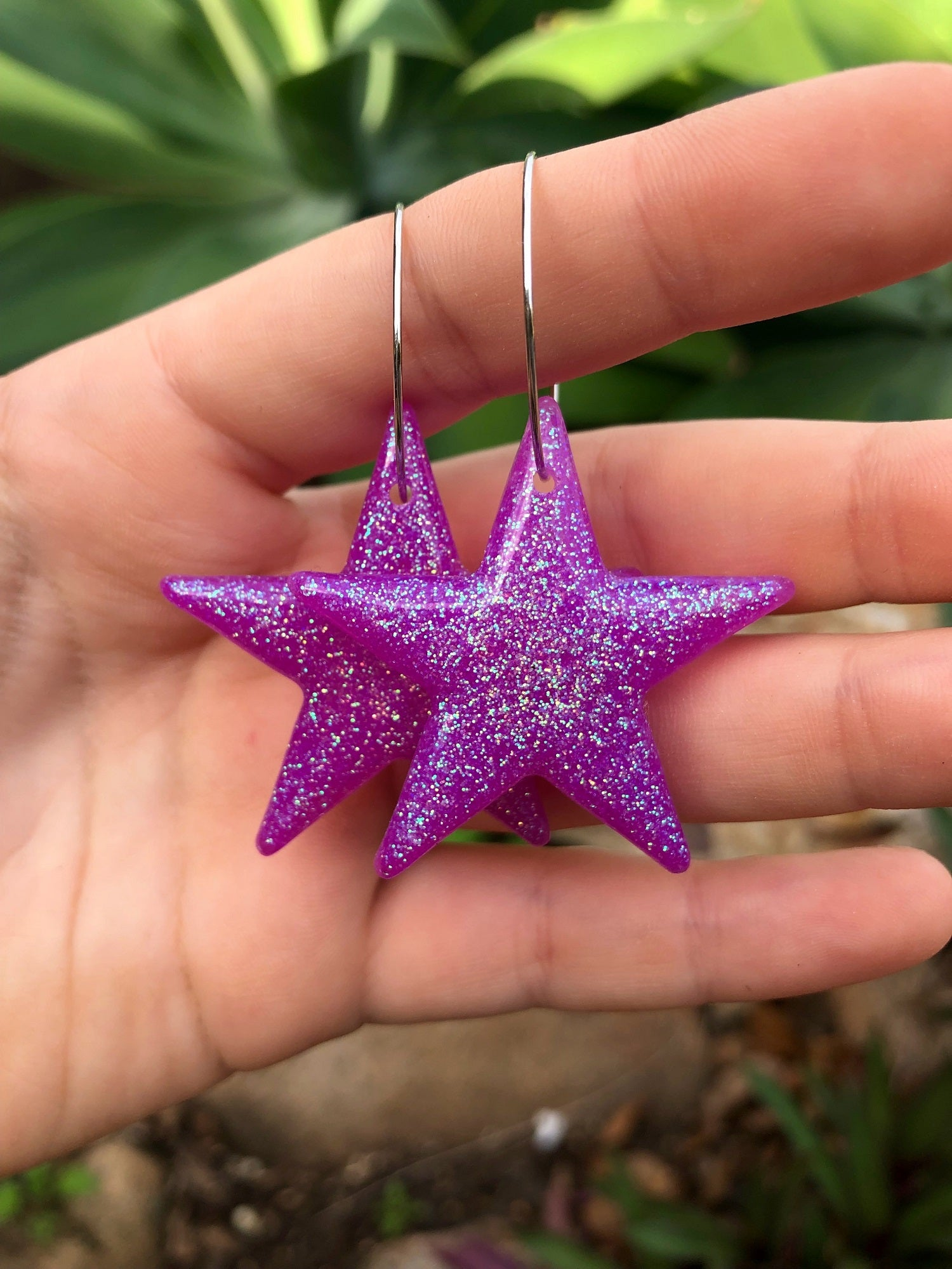 Holographic Purple Star Dangles