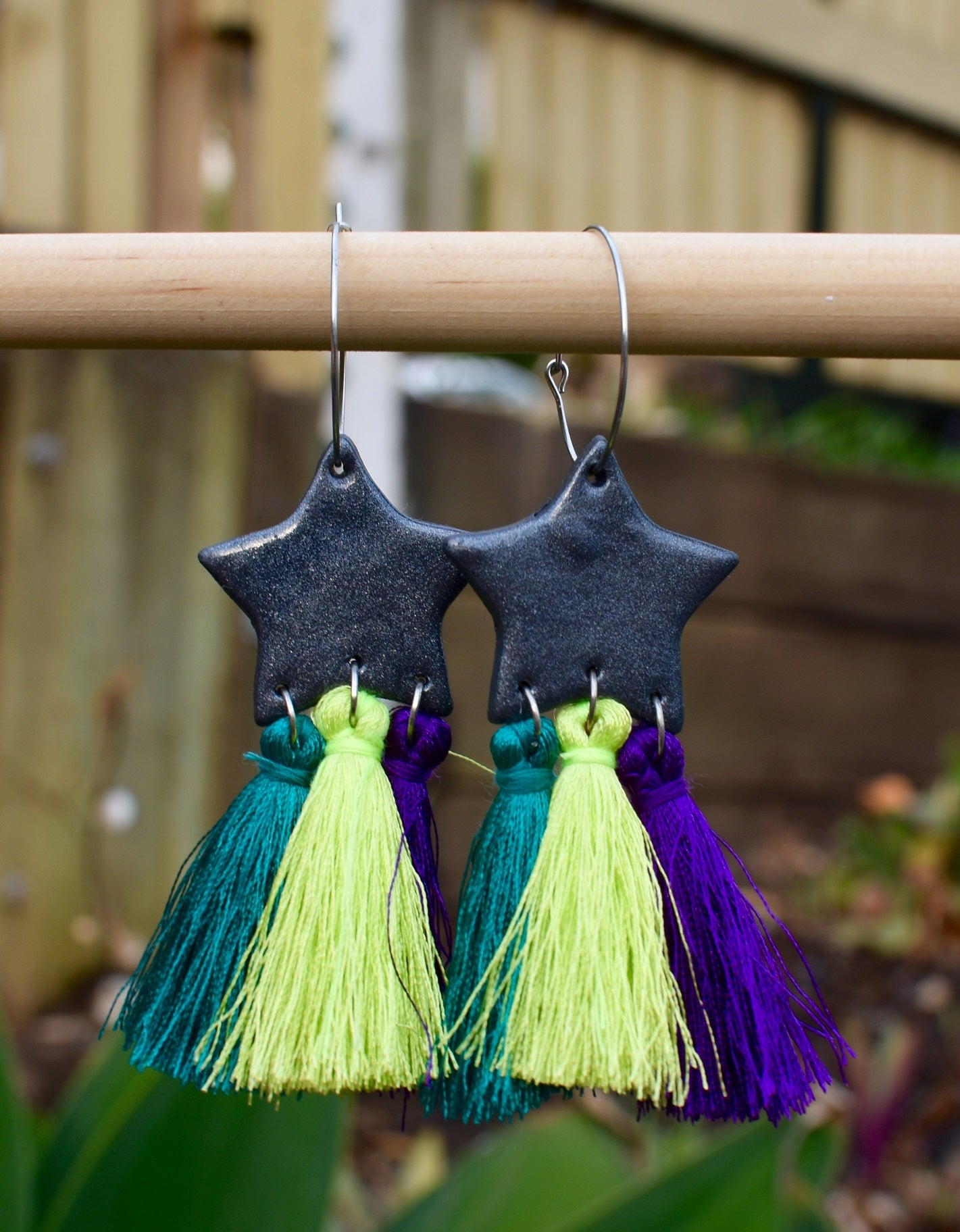 Three Tone Tassels