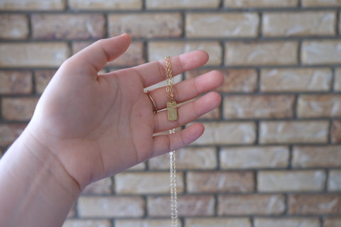 Dainty Gold Bar