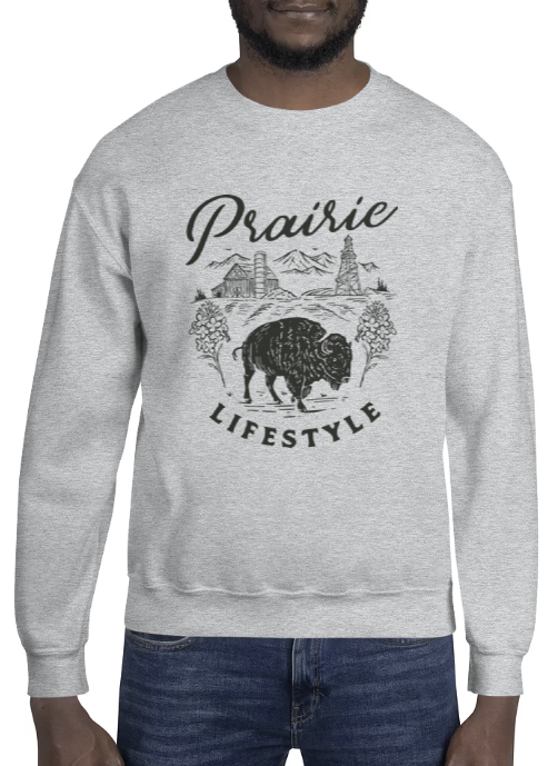 PRAIRIE LIFESTYLE SWEATSHIRT - The YEGERS