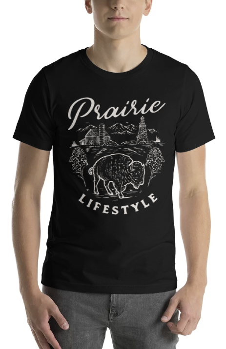 PRAIRIE LIFESTYLE TEE - The YEGERS