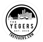 CLASSIC 3'' X 3'' STICKER - The YEGERS