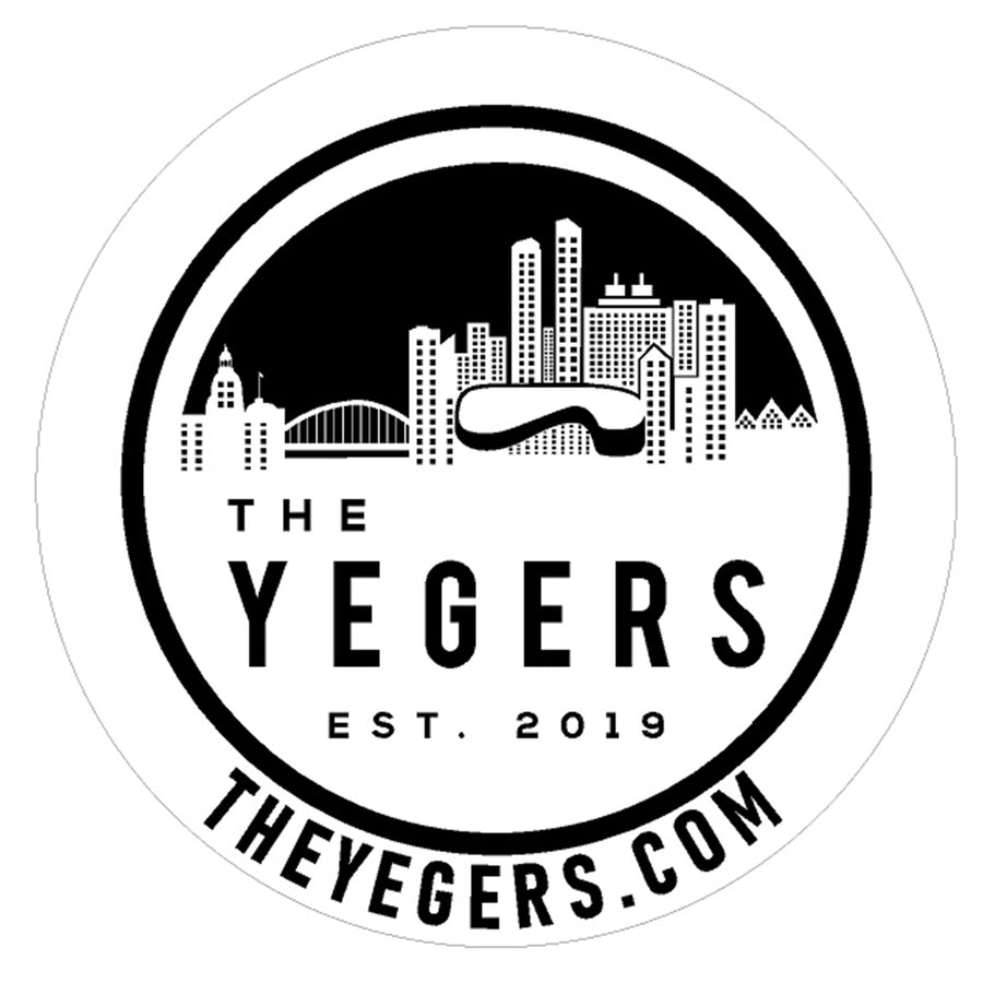 CLASSIC 6'' X 6'' EXTERIOR DECAL - The YEGERS