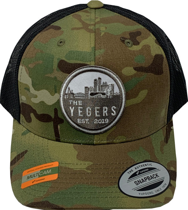 CLASSIC CAMO SNAPBACK - The YEGERS