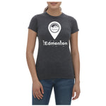 LOCATION PIN WOMEN'S TEE - The YEGERS