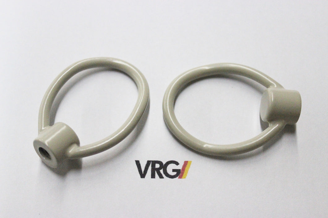 VRG Volkswagen / Audi Stainless Steel Sunroof Pull Tab Loops (sold as a pair)