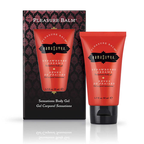 Kamasutra Pleasure Balm Strawberry Dreams Body Gel - Upphetsad