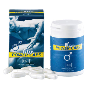 Hot Power Caps Men 60 pcs - Upphetsad
