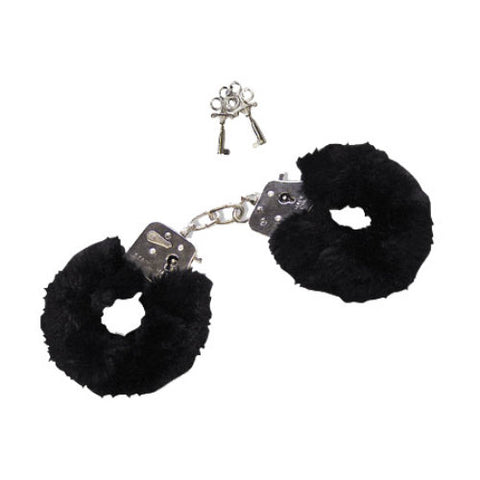 Furry Love Cuffs Black - Upphetsad
