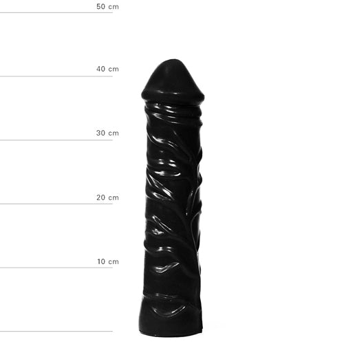 Dildo All Black 33 cm - Upphetsad