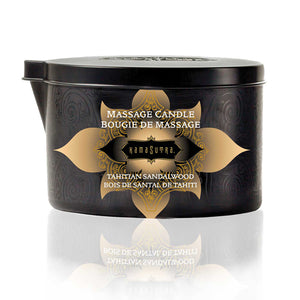 Massage Candle - Tahitian Sandalwood - Upphetsad