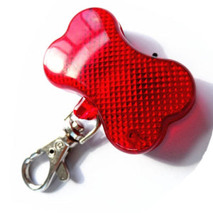 Pet Collar Light Night Walking Lights Keychain