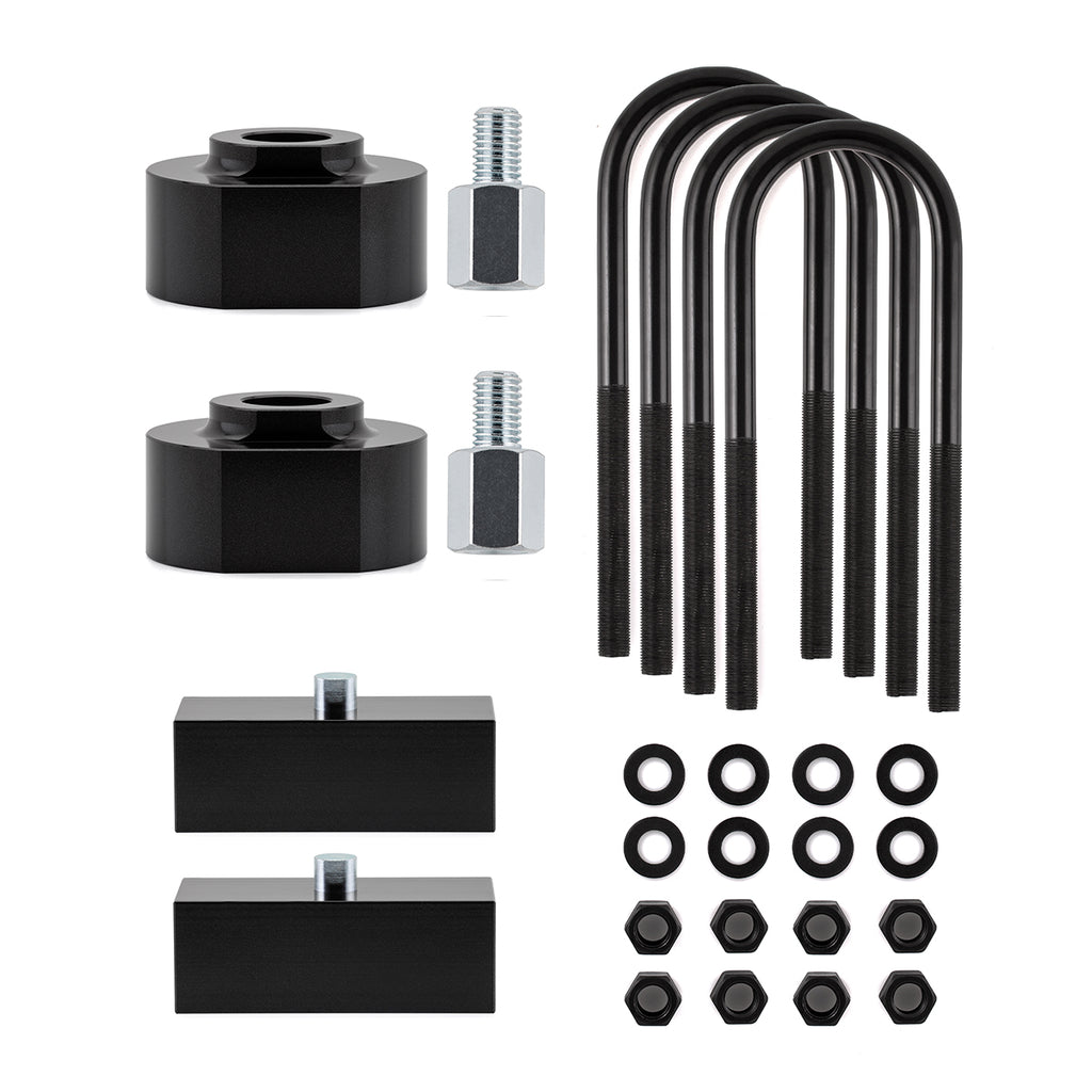 "1991-1994 Ford Explorer 2WD Full Lift Suspension Kit-Lift Kit-2""-1""-Black-All Roads America"