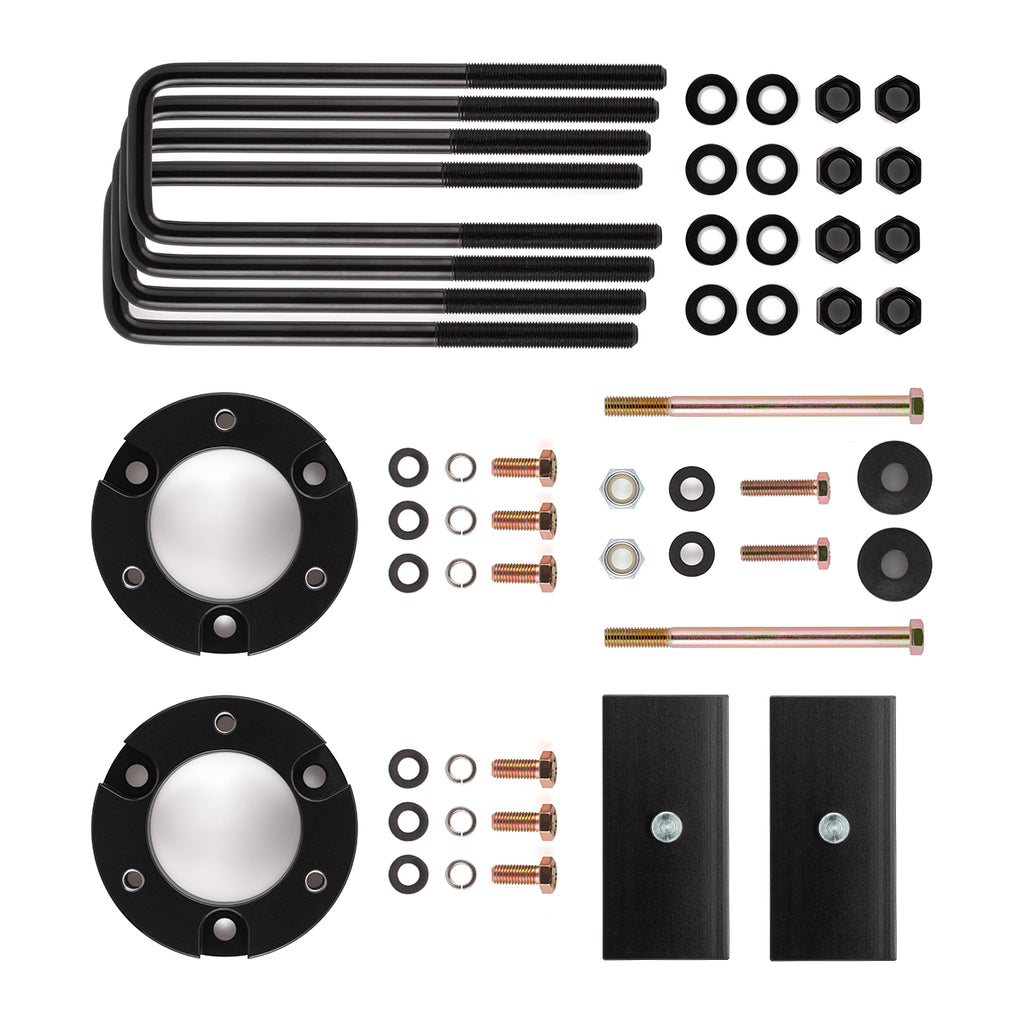 "1999-2006 Toyota Tundra 4WD Full Lift Suspension Kit includes Differential Drop Kit-Lift Kit-3""-1""-All Roads America"