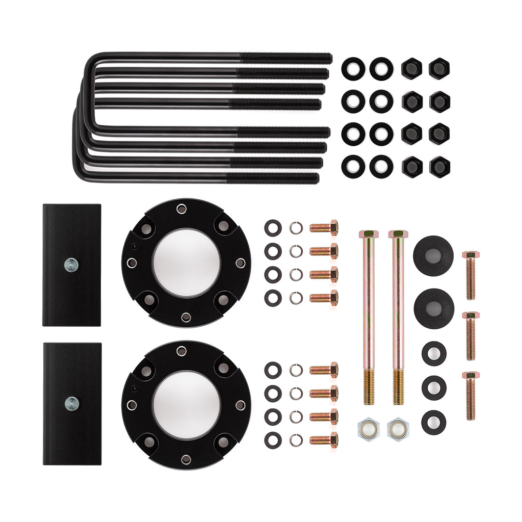 "2007-2021 Toyota Tundra 2WD 4WD Full Lift Suspension Kit includes Differential Drop Kit-Lift Kit-3""-1""-All Roads America"