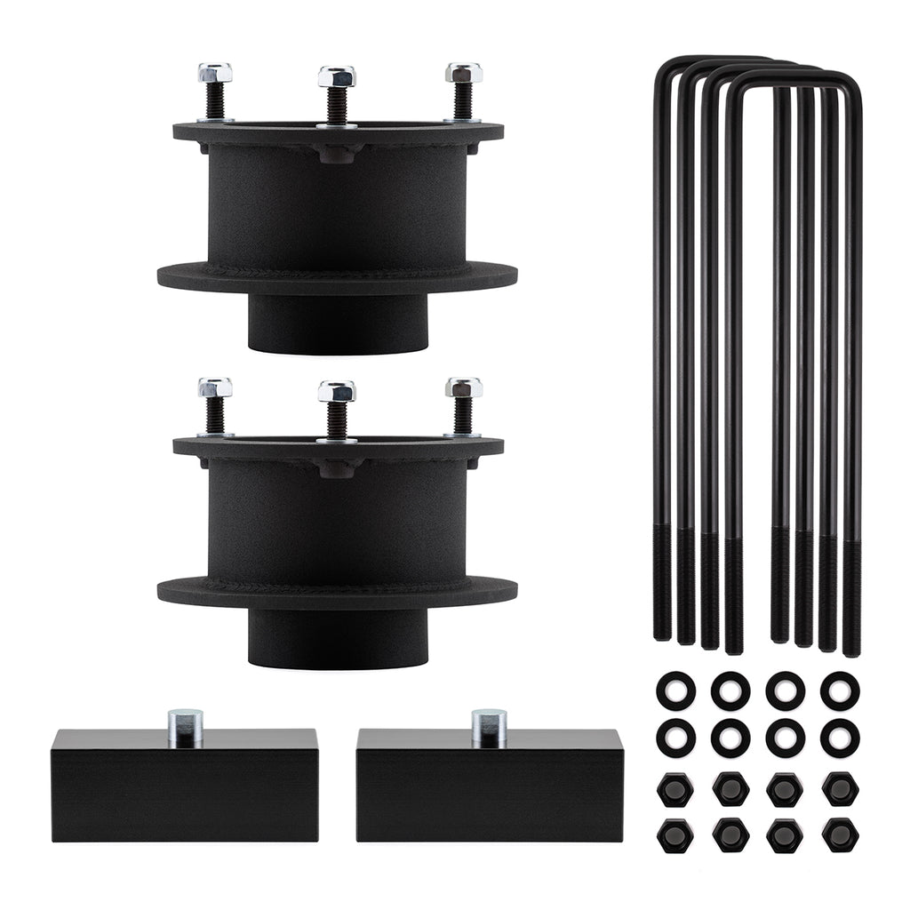 "2003-2008 Dodge Ram 1500 Megacab 4WD Full Lift Suspension Kit with 4"" Rear Axle and Overload Models-Lift Kit-2.5""-1""-All Roads America"
