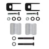 "2005-2020 Ford F-350 Super Duty 4WD Front Leveling Suspension Kit + Shock Extenders-Leveling Kit-2.5""-Silver-All Roads America"