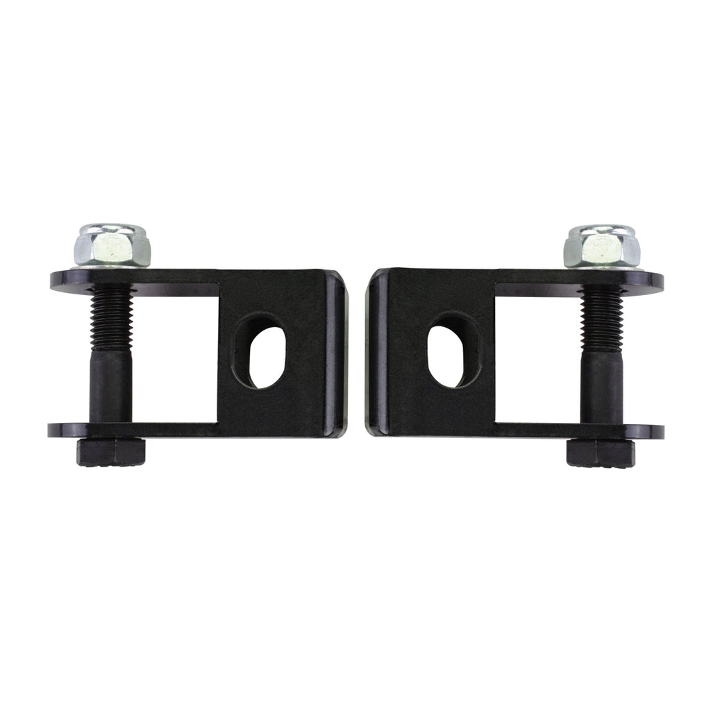 Fits 2005-2020 Ford F250 F350 Super Duty Front Black Shock Extender Brackets 4WD-Lift Kit-Black-All Roads America