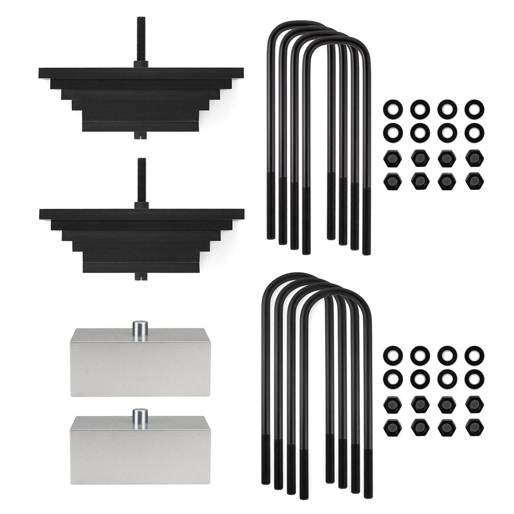 "1980-2004 Ford F250 Superduty 4WD Full Lift Suspension Kit-Lift Kit-2""-1""-All Roads America"