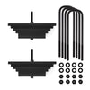 "1980-2004 Ford F350 Superduty 4WD Front Leveling Suspension Kit-Leveling Kit-2""-All Roads America"