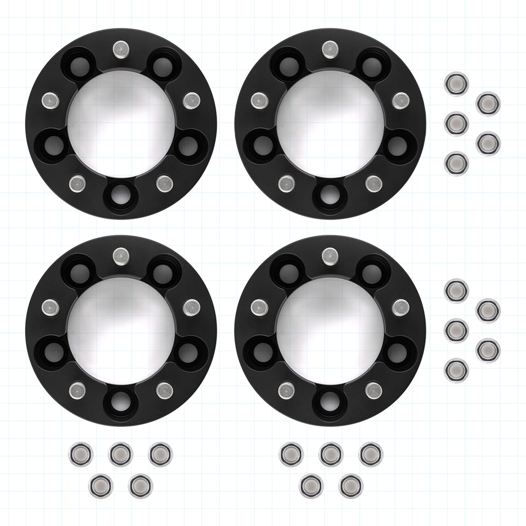 "2012-2018 Dodge Ram 1500 Hubcentric 4 x 1.5"" Wheel Spacers Full Kit-Wheel Spacers-All Roads America"