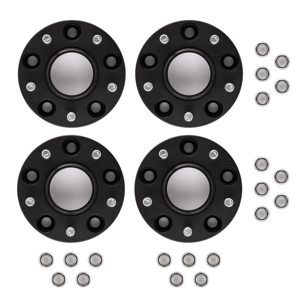 "2003-2014 Infiniti FX35 2WD 4WD 1"" Hubcentric Wheel Spacers Kit-Wheel Spacers-1""-Black-4pc-All Roads America"