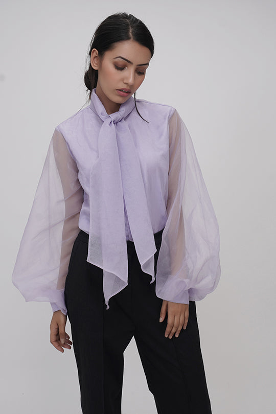 IN MY CLOTHES | organza shirts | bishop sleeves | online shopping | Loose fit blouses | premium casual clothing for women