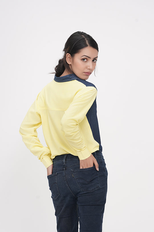 Shirts | IN MY CLOTHES | Denim Shirts | Loose fit blouses | premium casual clothing for women | Shop online