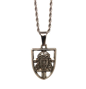The In Via Shield of Faith Pendant