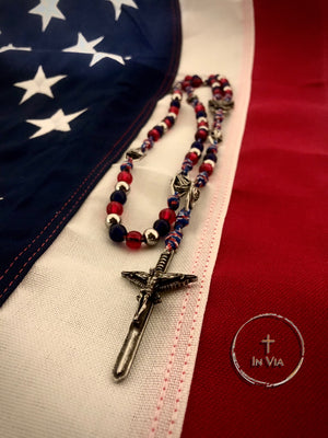 The In Via American Defender Octo Metallum St. Michael Rosary