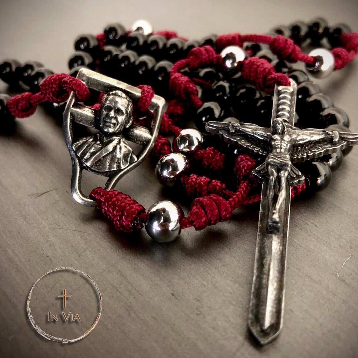 In Via Archbishop Fulton J. Sheen Defender Rosary