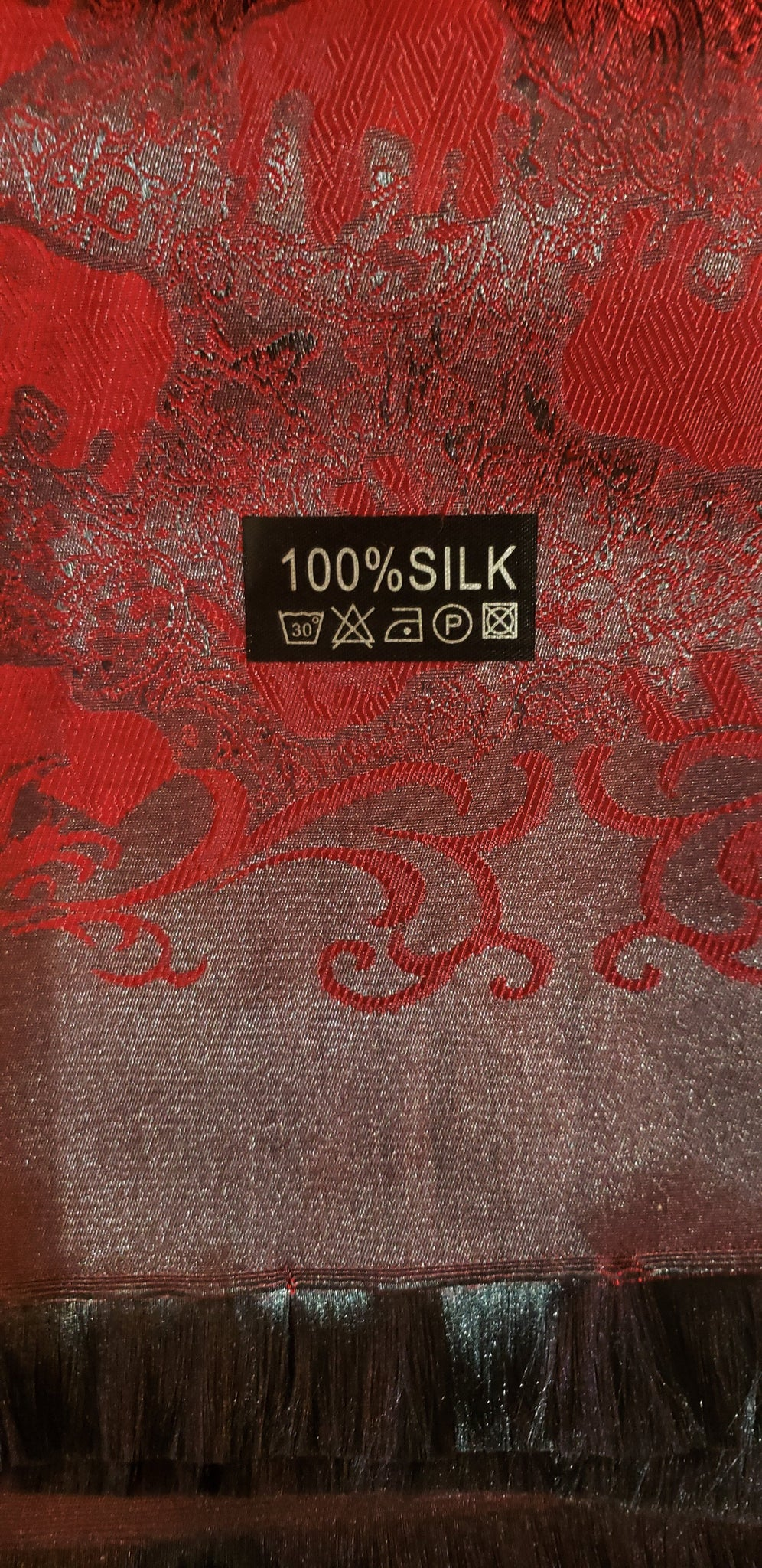 shawl scarf 100% long with elephants