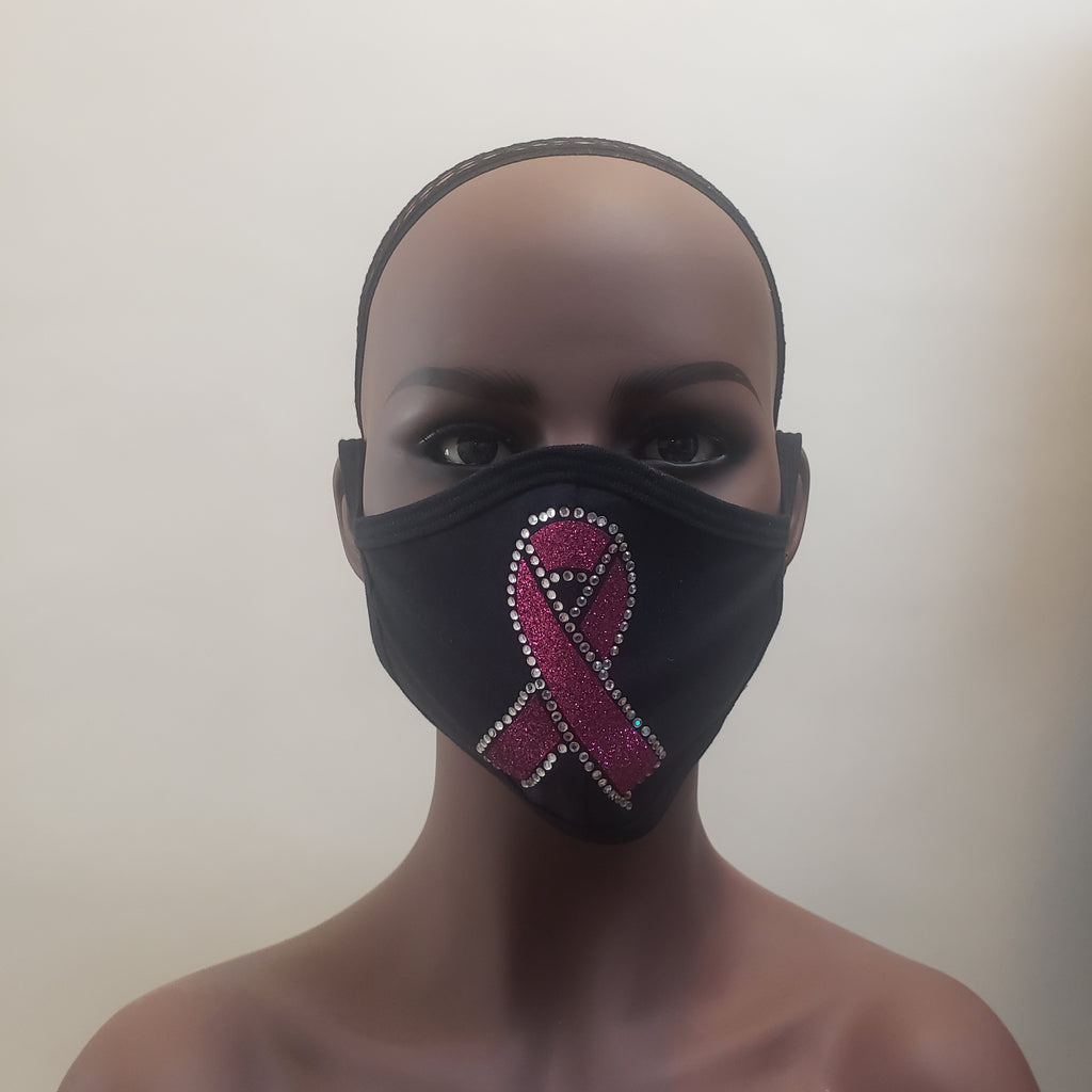 Breast Cancer Awareness Cloth Mask-Mask-SanJules