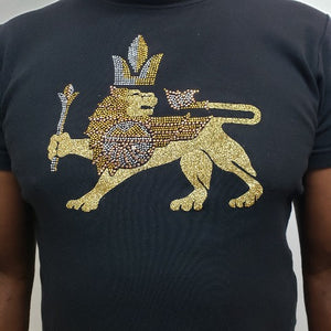 Lion Royalty T-T Shirt-SanJules