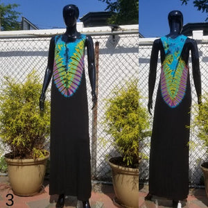 A touch of tie dye dress-Dress-SanJules