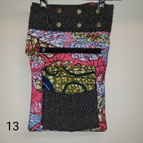 Ankara Mix Waist bag-Accessories-SanJules