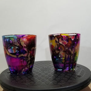 13.4 oz. Pair Thick Bottom Old fashioned glass