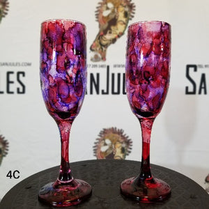7 oz. Champagne glasses pair