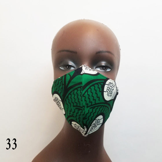 Fashion Ankara Cloth Mask-mask-SanJules