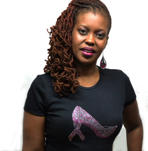 Breast Cancer Awareness Shoe-T Shirt-SanJules