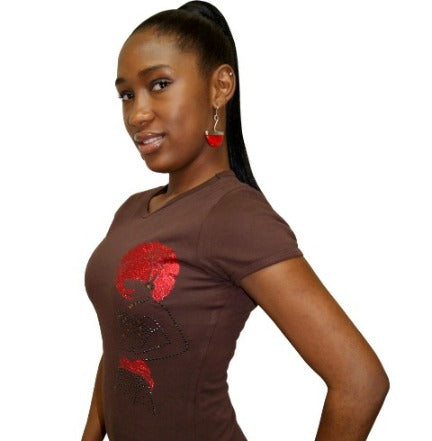RED HOT SHORT SLEEVE T-SHIRT