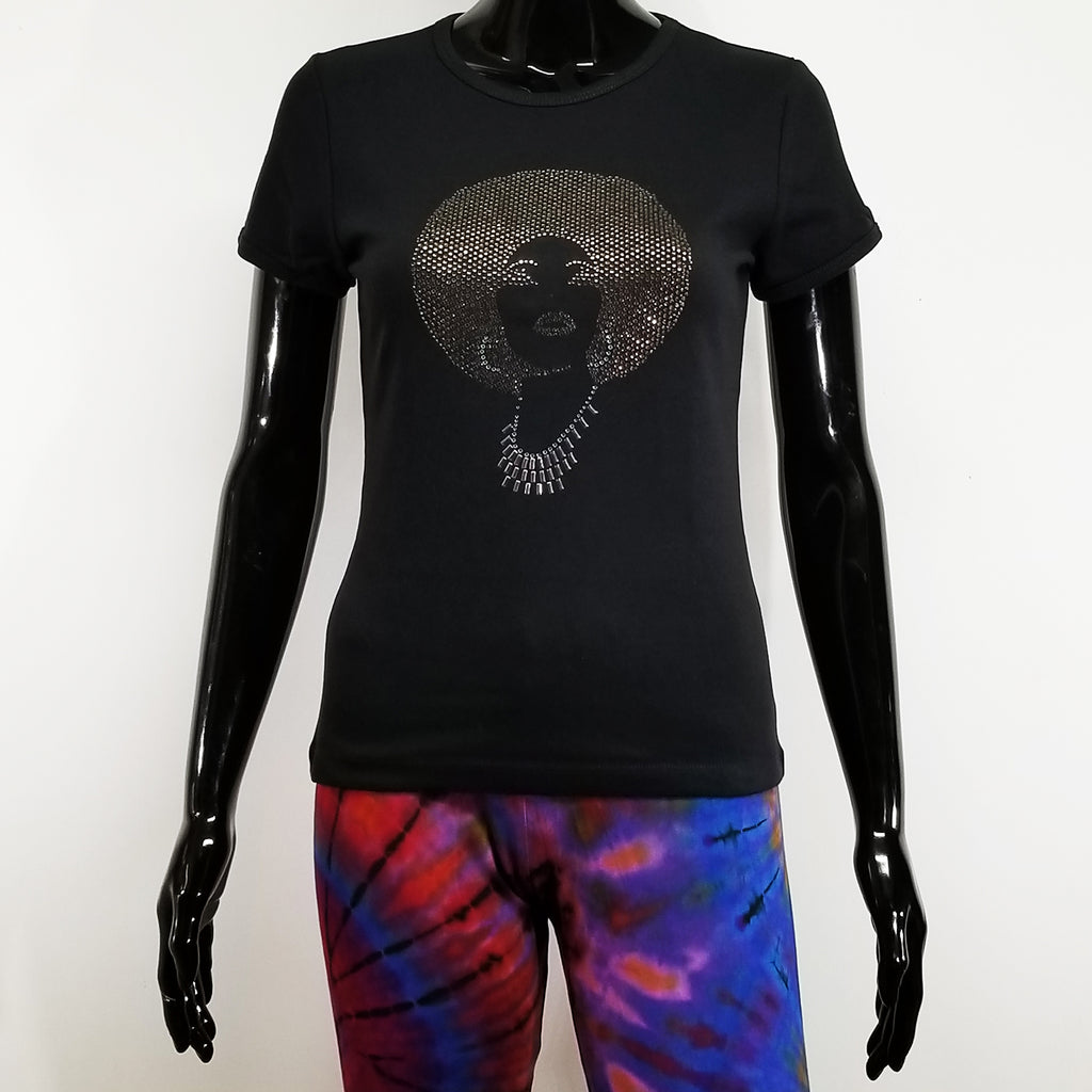 FOXY BLACK DIAMOND SHORT SLEEVE T-SHIRT