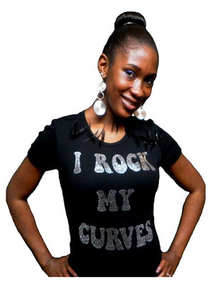 I rock my curves-T Shirt-SanJules
