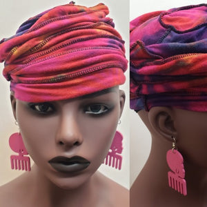 Afrocentric Earrings-Jewelry-SanJules