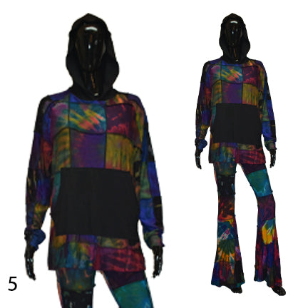 Do you Patchwork hoodie