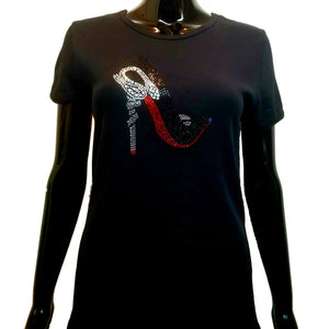 Red Bottom Stiletto-T Shirt-SanJules