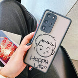 Couples Boy and Girl Matte Huawei Case