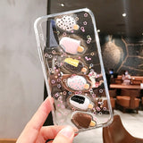 3D Ice Cream Transparent Soft Silicone Samsung Case