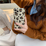 Fashion Leopard Soft iPhone Case