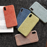 Candy Color Plush Soft iPhone Case